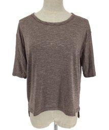 miniministore/tシャツ レディース 半袖 カットソー ラウンドネック 無地 トップス シンプル/501092322