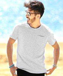 JIGGYS SHOP/クルーネックポケット付き消臭機能半袖Tシャツ / 無地 Tシャツ メンズ ポケットtシャツ 綿100% 胸ポケット/501092540