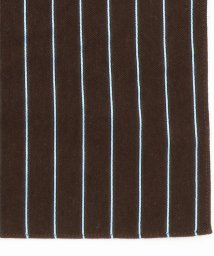 MONSIEUR NICOLE/ピンストライプ柄ポケットチーフ/501077108