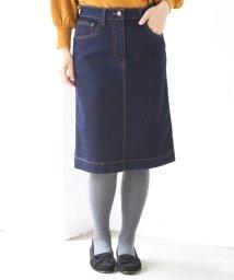 coen/【先行販売】ストレッチデニムタイトミニスカート/501093533