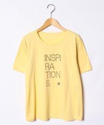 Leilian PLUS HOUSE/【特別提供品】ロゴTシャツ/501040800