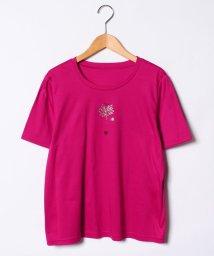 Leilian PLUS HOUSE/【特別提供品】箔プリントTシャツ/501040863
