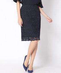 Viaggio Blu/【洗濯機OK】コードレースタイトスカート/501091907