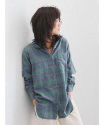 Ungrid/ビッグルーズチェックシャツ/501093182