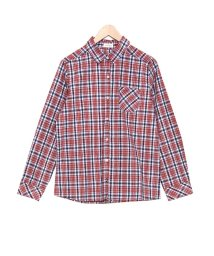 salus/コットンチェックシャツ/501095086