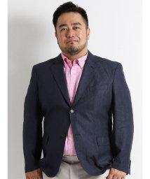 GRAND-BACK/【大きいサイズのメンズ服・グランバック】フレンチリネンムジジャケット/501095225