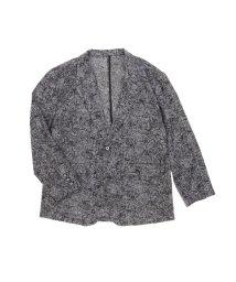 GRAND-BACK/【大きいサイズのメンズ服・グランバック】barassi ボタニカルジャガードニットジャケット/501095231