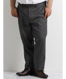 GRAND-BACK/【大きいサイズのメンズ服・グランバック】綿ストレッチメランジ杢スリムスラックス/501095243