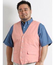 GRAND-BACK/【大きいサイズのメンズ服・グランバック】綿麻リバーシブルジレ/501095255