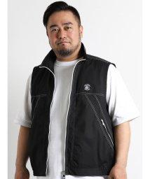 GRAND-BACK/【大きいサイズのメンズ服・グランバック】SINACOVA フルジップベスト/501095257