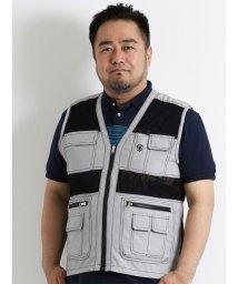 GRAND-BACK/【大きいサイズのメンズ服・グランバック】COOLメッシュベスト/501095262