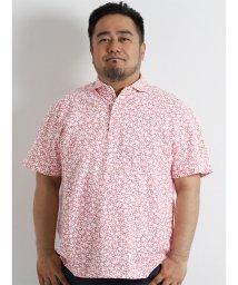 GRAND-BACK/【大きいサイズのメンズ服・グランバック】ALEXANDER JULIAN フラワー総柄プリントポロシャツ/501095357