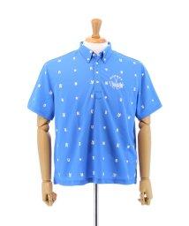 GRAND-BACK/【大きいサイズのメンズ服・グランバック】Number (ナンバー) 鹿の子飛び柄半袖ポロシャツ/501095366