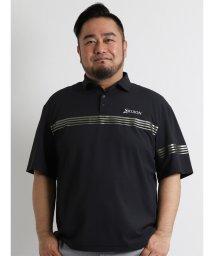 GRAND-BACK/【大きいサイズのメンズ服・グランバック】SRIXON パネルボーダー半袖ポロシャツ/501095425