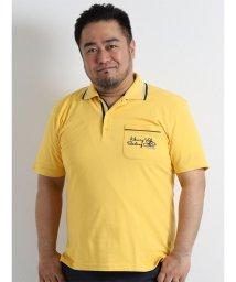 GRAND-BACK/【大きいサイズのメンズ服・グランバック】HENRY VAL カノコ天竺半袖ポロシャツ/501095430
