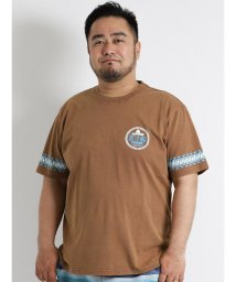 GRAND-BACK/【大きいサイズのメンズ服・グランバック】Ocean Pacific (オーシャンパシフィック) スノーウォッシュ袖プリント半袖Tシャツ/501095435
