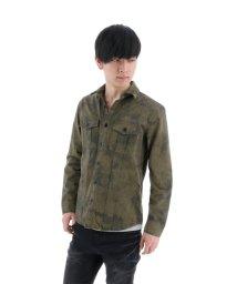 semanticdesign/タイダイ染めミリタリーシャツ/501096572