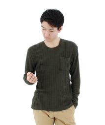 semanticdesign/ロープジャガードポケット付きクルーネックTシャツ/501096903