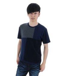 semanticdesign/身頃切替ニットソーTシャツ/501096935