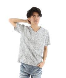 semanticdesign/ランダムテレコVネックフェイクTシャツ/501097013