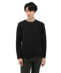 semanticdesign/インレイジャガードダブルクルーネック長袖Tシャツ/501097041