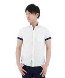 TAKA-Q/フレンチリネン混ハケメカッタウェイカジュアルシャツ/501097574