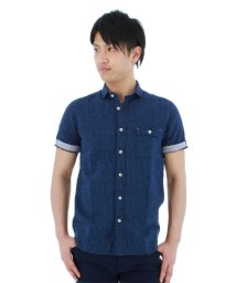 TAKA-Q/フレンチリネン混カッタウェイカジュアルシャツ/501097579