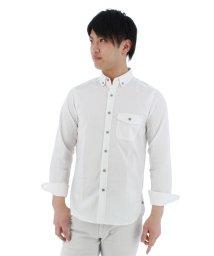 TAKA-Q/DIAMAGIC DIRECT 無地ボタンダウン長袖カジュアルシャツ/501097606