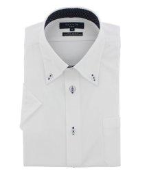 TAKA-Q/形態安定(ノーアイロン)スリムフィットボタンダウン半袖ニットビジネスドレスシャツ/501097832
