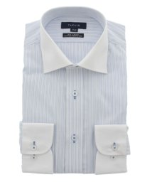 TAKA-Q/形態安定(ノーアイロン)レギュラーフィットワイドカラークレリックビジネスドレスシャツ/501097864