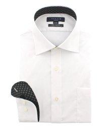 TAKA-Q/形態安定(ノーアイロン)スリムフィットワイドカラービジネスドレスシャツ/501098105