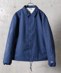 SHIPS JET BLUE/Champion×SHIPS JET BLUE: 別注 スリーブロゴプリント コーチジャケット/501098741