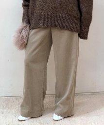 GALERIE VIE/【一部予約】シャンカールコットンコーデュロイ 5ポケットワイドパンツ/501098767