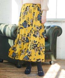 ROPE' PICNIC/【WEB限定】花柄ロングスカート/501100650