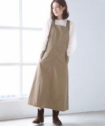 coen/ライトチノサロペットスカート ( ジャンパースカート )/501102432
