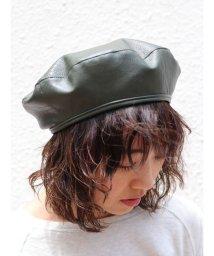 Ungrid/フェイクレザーベレー帽/501093186