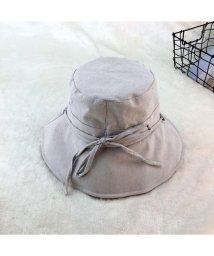 miniministore/帽子 レディース 夏 uv 折りたたみ 帽子 リボン付き おしゃれ つば広 帽子/501105054