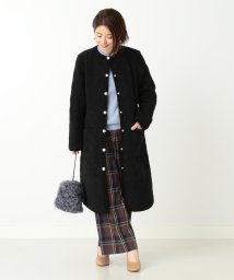 Demi-Luxe BEAMS/Traditional Weatherwear / 別注 ARKLEY ボアロングコート/500924172