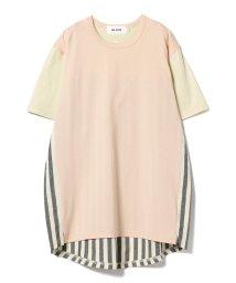 Ray BEAMS/ALOYE / Shirt fabric Tシャツ▲/501052046