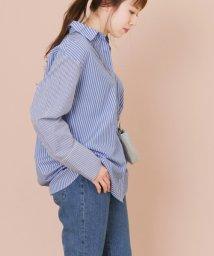 URBAN RESEARCH/【KBF+】ストライプミックスシャツ/501073958