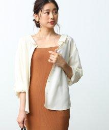 ROPE' mademoiselle/ツイル3WAYシャツ/501091687