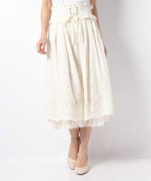 axes femme/コルセットデザイン刺繍スカート/501092642