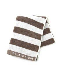 gelato pique/2ボーダーバスタオル/501107412