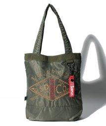 STYLEBLOCK/『SURPLUS』ミリタリー刺繍入り2WAYミニショルダートートバッグ/500835297