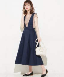 NICE CLAUP OUTLET/【natural couture】おしゃれジャンスカ2WAY/501085565