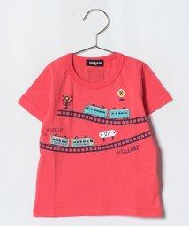 kladskap/電車パイル刺しゅうTシャツ/501093368