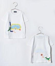 kladskap/シュノーケル恐竜Tシャツ/501093370