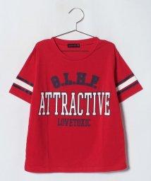 Lovetoxic/カレッジロゴプリントTシャツ/501093374