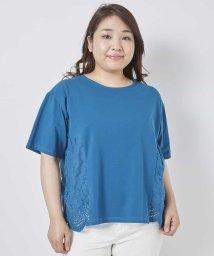 eur3/【大きいサイズ】裾スカラレースカットソー/501088825
