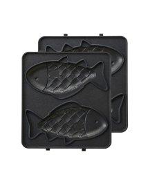 BRUNO/ホットサンドメーカーシングル用おさかなプレート/501102240